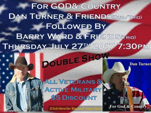 Barry Ward Event